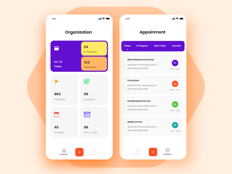 Task app page clean business web design landing page effect animation typography gird list task illustration colors design minimal ios app screens ui cards