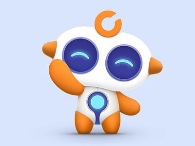 Afu - Hi~ robot illustration ui