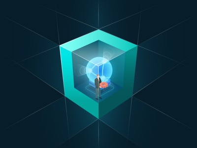 Box icon 01 illustration icon design ui