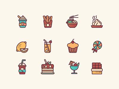 Food icons 2 icon design ui illustration