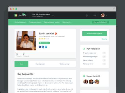 JobSwift - Freelancer Profile
