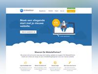 De WebsitePartner Homepage