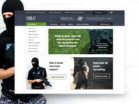Webshop for airsoft accessoires