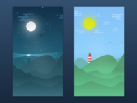 Landscape Night & Day
