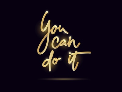 You can do it 3d lettering