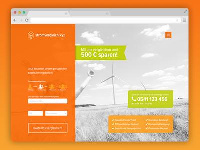 Stromvergleich Website