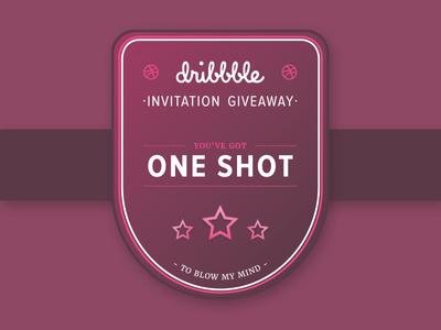 dribbble Invitation Badge