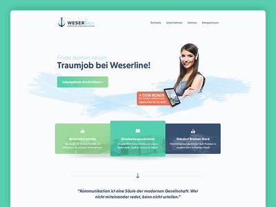 Webdesign for a german callcenter