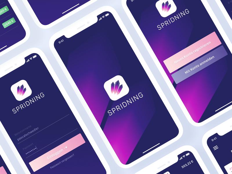 Little App Concept mobile app design mobile ux design ui design ui  ux ux ui app concept purple iphone app app design