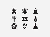30 Free Christmas Vector Icons