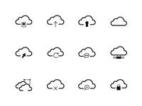 Download 24 FREE Cloud Vector Icons