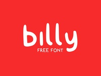 billy - free typeface