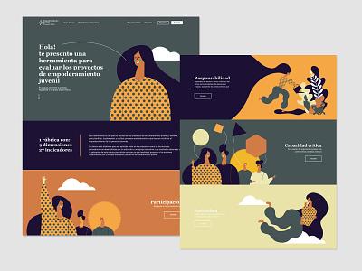 Hebe design illustration userinterface web design ui design uiux ux ui user experience