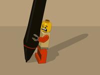 Lego Wacom pen