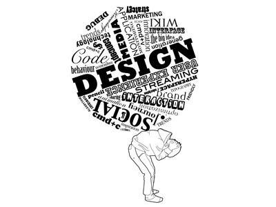 Digital Native illustration design