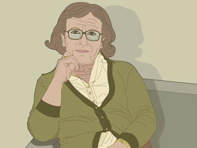 Mom illustration design