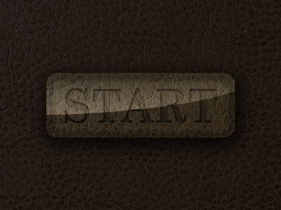 Leather Button interface design