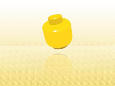 Lego Head illustration design