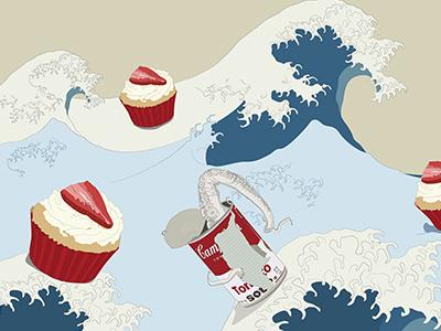 Psyco Dream illustration design
