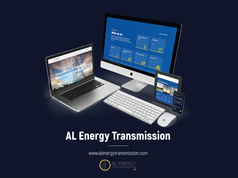 Web Design & Development – ALEnergyTransmission.com | W wordpress web development website web design