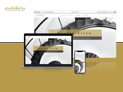 Web Design & Development - StudioVirtu.org | Website landing page design branding wordpress web development website web design