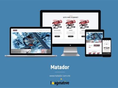 Web Design and Development - Matador.com.mk | Imaginative