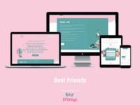 Web Design and Development - Bfriends.club | Website