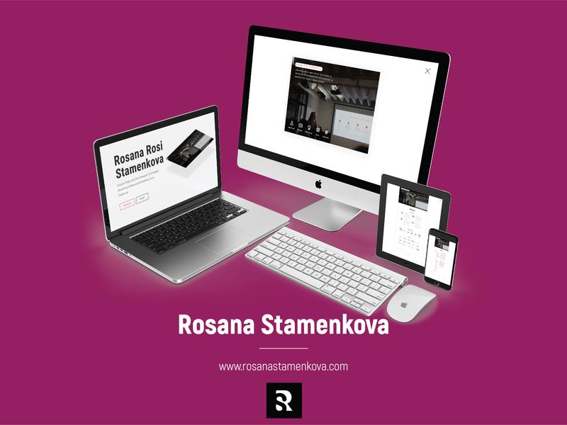 Web Design & Development - Rosanastamenkova.com | Website wordpress web development website web design