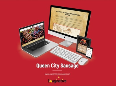 Web Design & Development – Queencitysausage.com | IA