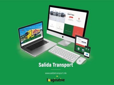 Web Design & Development – Salidatransport.mk | IA
