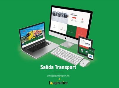 Web Design & Development – Salidatransport.mk | IA wordpress web development web design website
