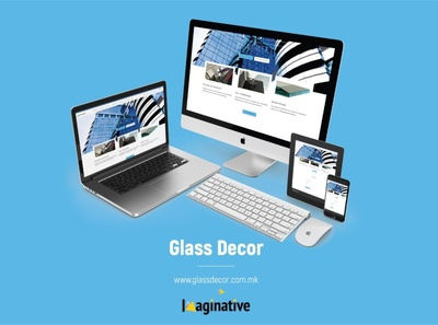 Web Design & Development – Glassdecor.com.mk | IA
