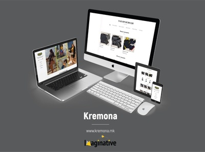 Web Design & Development – Kremona.mk | IA