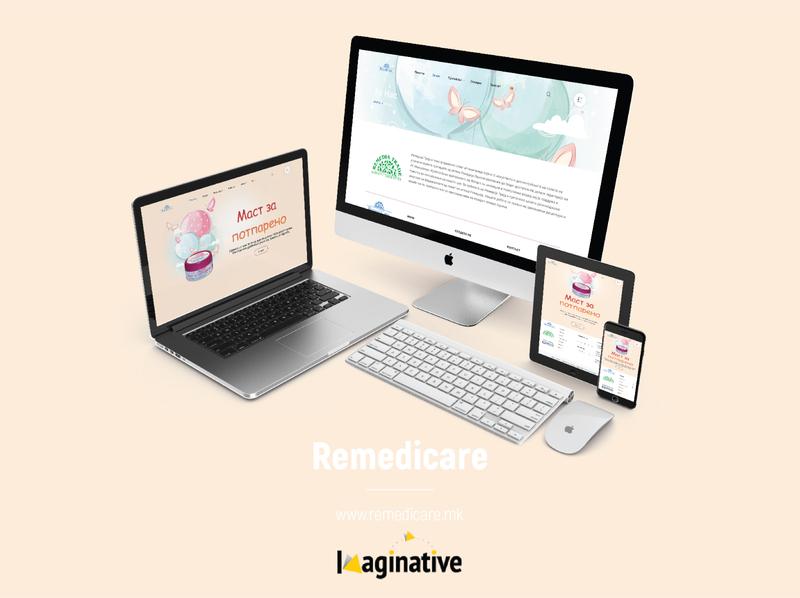 Web Design & Development – Remedicare.mk | IA wordpress web development website web design