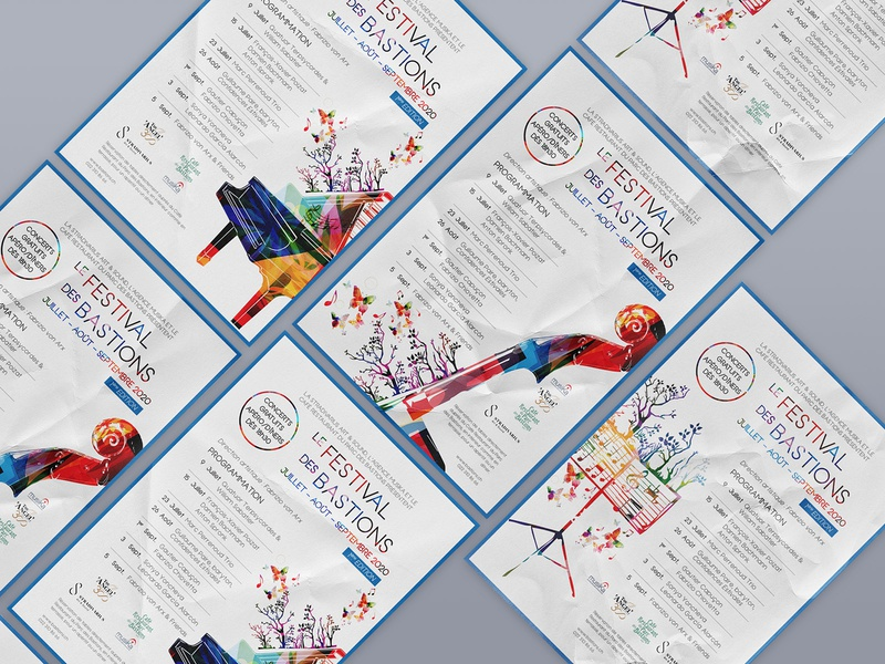 Posters for music festival festival music typography art direction poster vector illustration design graphic design print design print