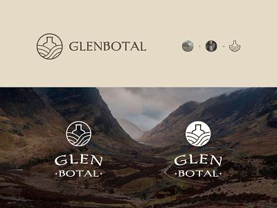 Logo bottal glen identity brand identity branding graphic design sign logo design logotype logo whiskey whisky