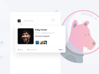 Profile Preview for SaaS Idea Sharing Platform
