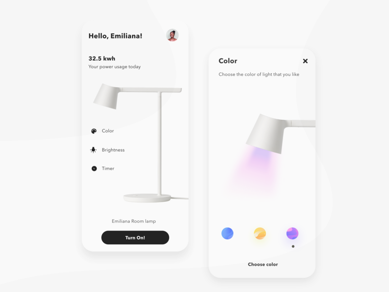 Settings uidesign colors adjustment adjust dark dark ui black  white color settings page setting settings ui minimalist lamp ui ui design