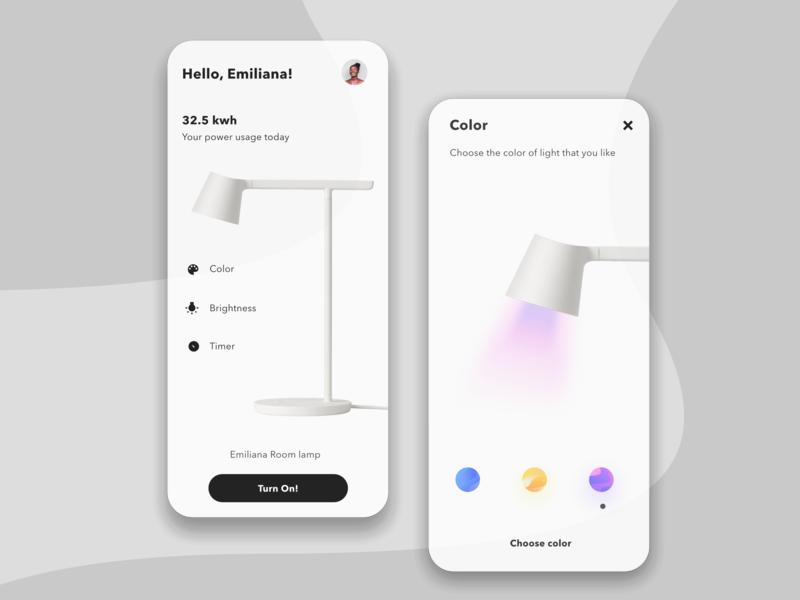 Settings uidesign colors adjustment adjust dark dark ui black  white color settings page setting settings ui minimalist lamp ui ui design
