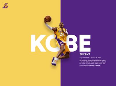 Kobe Bryant Tribute -  Forever a legend