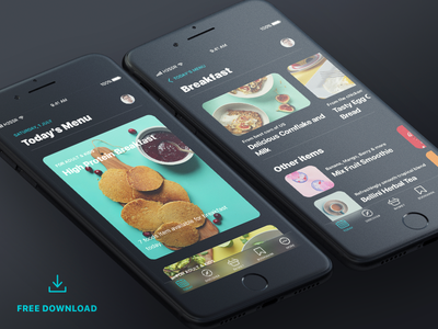Food dark ios 11 by gulam sulaman