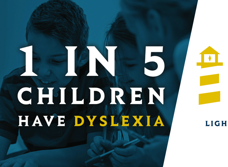 Dyslexia Awareness Billboard - Lighthouse Academy for Dyslexia brand identity design billboard design marketing branding illustration brand design