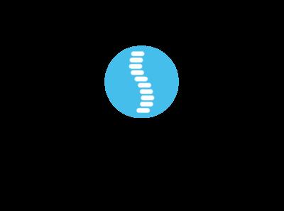 Resolution Family Chiropractic typography icon logodesign branding brand identity logo brand design design