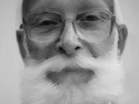 Oily old man