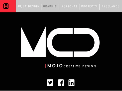 Mojo Creative Design-Personal Landing Page