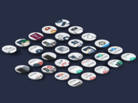 eServices Flat Icons