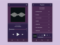009 UI Daily Challenge - Music Player