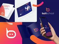 boti school - logo Design
