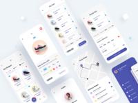 Ecommerce App design application ui ui design minimalistic ios mobile ui add to cart online shop shop ecommerce app ecommerce mobile app app design app ux ui