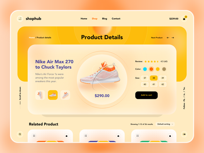 E-commerce Product Details website designer ecommerce business website design web page e-commerce website uiux store shopping shop product page product landingpages landingpage homepage fashion eshop ecommerce design ecommerce shop e-commerce ecommerce
